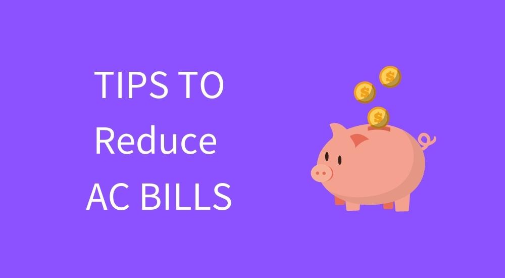 reduce ac bills