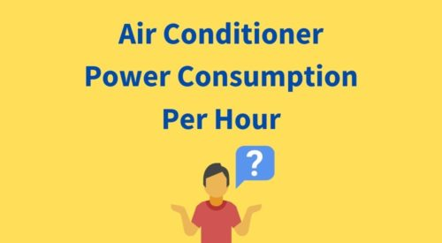 What is the Power Consumption of AC in 1 Hour