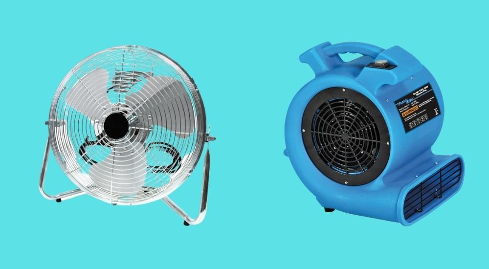 fan vs blower featured image
