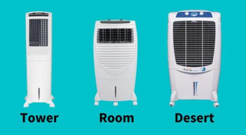 Types of Air Cooler | Desert vs Room Cooler
