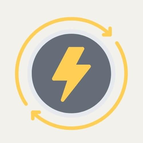 energy saver mode symbol
