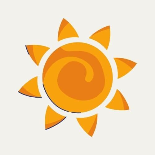 heat mode symbol
