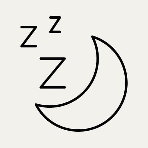 sleep mode symbol