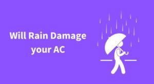 Can I run AC during Rain