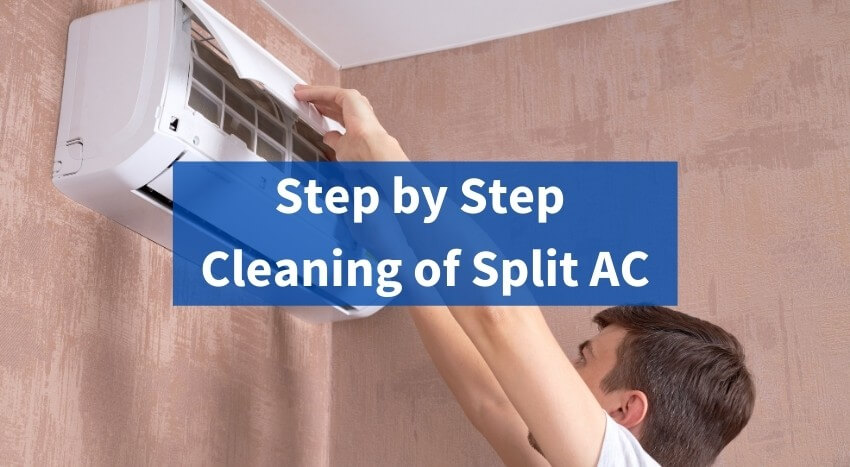 Step by Step Cleaning of Split AC