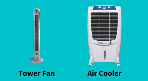 Which is better electric Fan or Air Cooler