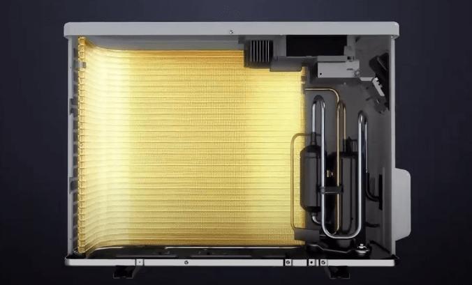 gold fin condensor