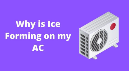 Reasons for Ice formation in Split AC with their Solution