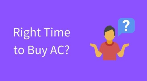 When is the best time to buy an Air Conditioner in India