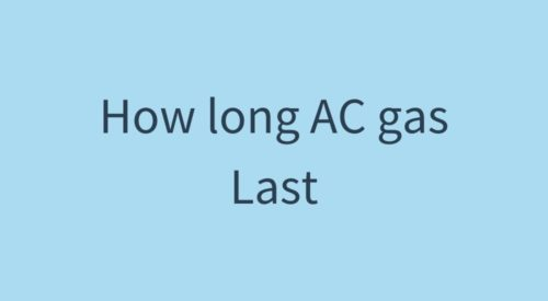 How often should I get my AC gas filling done
